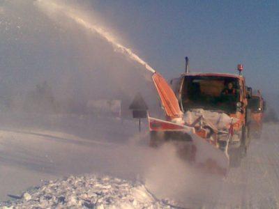 Schneefräe im Winterdienst