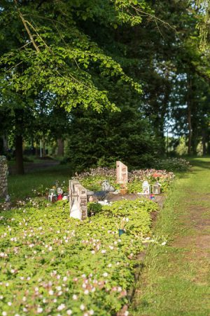 Grabstätte für still. Kinder