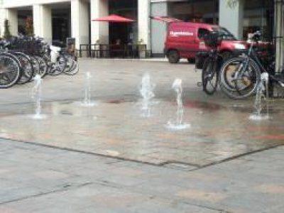 Wasserspiel Marienplatz